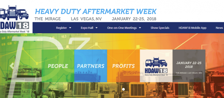 HDAW Trade Show - General Truck Parts